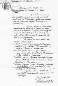 """Déclaration et statuts du club """"Chemineau-Cyclo-Touristes annemassiens"""""""